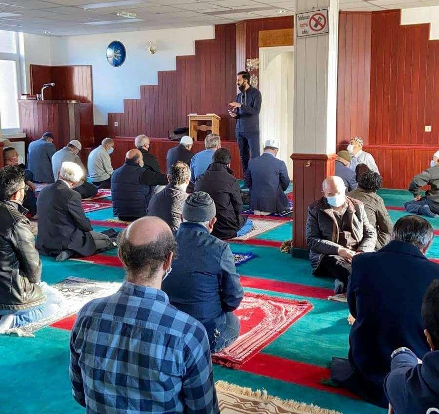Gençlik Teşkilatları, cami cemaatini bilgilendirdi