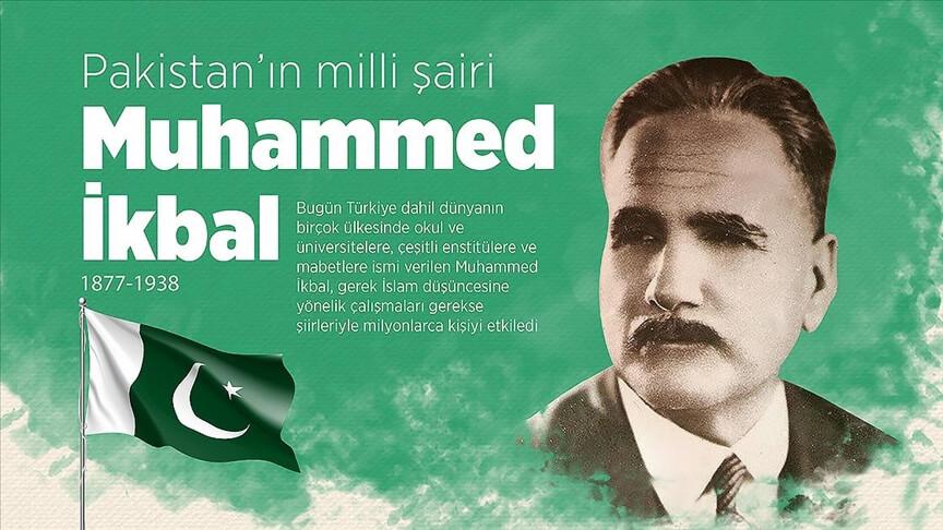 Pakistan'ın millî şairi Muhammed İkbal