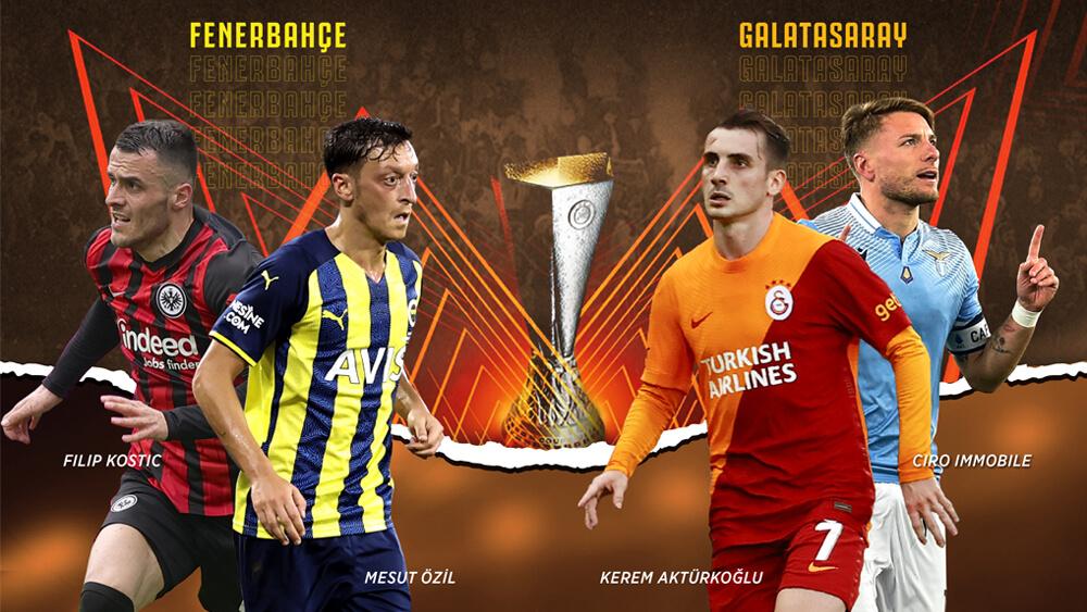 Fenerbahçe ve Galatasaray, UEFA Avrupa Ligi'nde sezonun ilk maçlarına çıkıyorlar