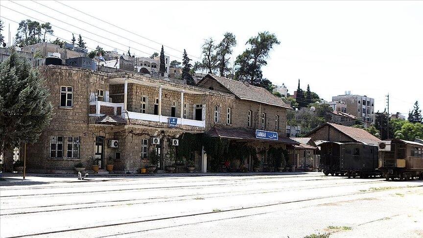 Osmanlı yadigarı Hicaz Demir Yolu'nun Ürdün hattı, 113 yıl sonra da hizmet vermeyi sürdürüyor