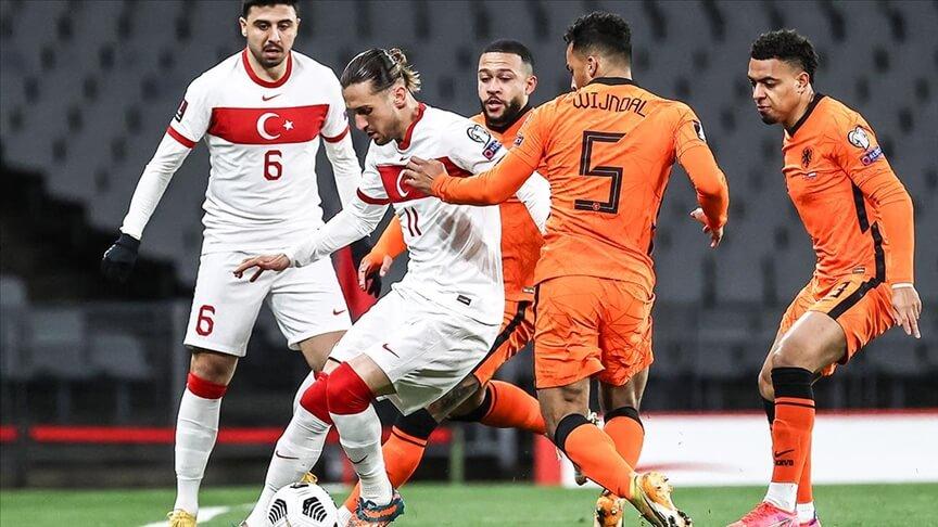 A Millî Futbol Takımı Dünya Kupası Elemeleri'nde yarın Hollanda ile karşılaşacak