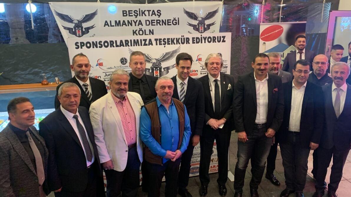 Köln Beşiktaş'lıar Derneği Beşiktaş'ın 16. Şampiyonluğunu Kutladı