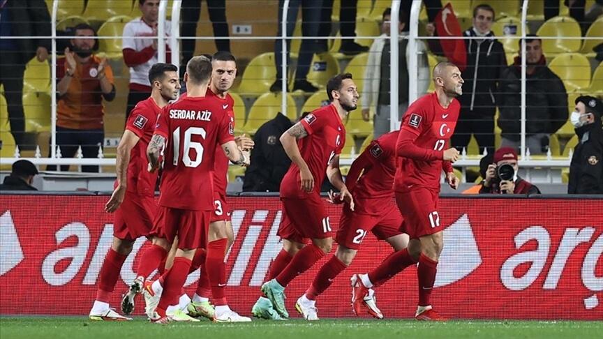 A Milli Futbol Takımı umutlarını sürdürmek için yarın Letonya deplasmanında